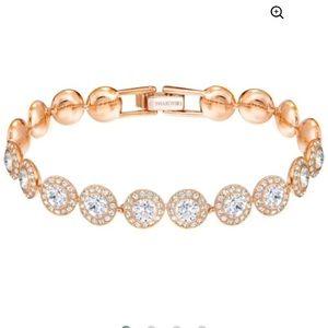 Swarovski Angelic White Rose Gold Bracelet